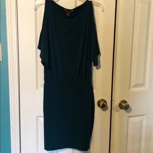 Moda International Green Stretch Dress